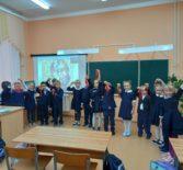 В Большеигнатовской СОШ был проведён классный час на тему: «Александр Невский – святой защитник Земли Русской»
