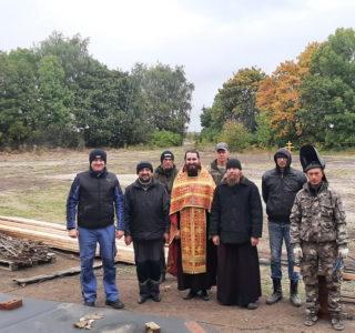 Начинается строительство нового храма в честь свщм.Павла Ягодинского