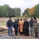 В с.Шугурово Большеберезникоского района было совершено молебное пение перед началом строительства нового храма в честь свщм. Павла Ягодинского