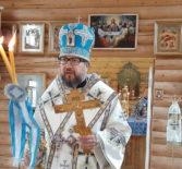 Отдание праздника Рождества Пресвятой Богородицы в храме Новомучеников и Исповедников Российских г. Ардатова