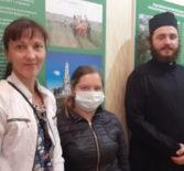 В благотворительном складе при епархиальном управлении Ардатовской епархии выдали благотворительную помощь двум многодетным семьям