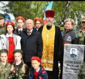На кладбище Атяшевского сельского поселения в торжественной обстановке состоялось открытие памятника участнику ВОВ и обороны Ленинграда