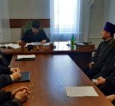 Архипастырь провел рабочее совещание с руководителем и его помощниками Миссионерского отдела Ардатовской епархии