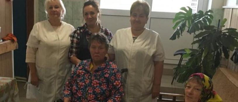 Благотворительная помощь Козловскому Дому-интернату для престарелых и инвалидов Атяшевского района