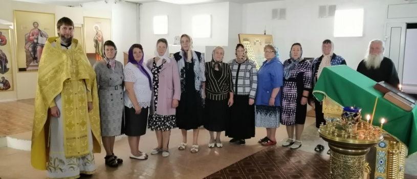 День пожилых людей в храме святого Апостола Андрея Первозванного п.Атяшево