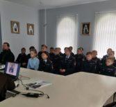 В епархиальном управлении Ардатовской епархии прошло мероприятие, посвященное 20-летию канонизации святого праведного воина Феодора Ушакова