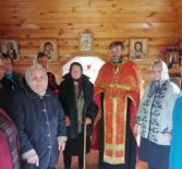 Память св.князя Александра Невского совершили в одном из самых отдаленных уголков Ардатовской епархии