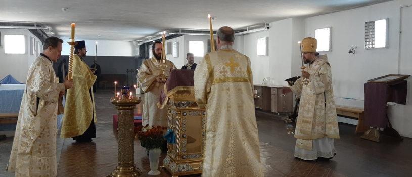 Всенощное бдение в Андреевском кафедральном соборе п.Атяшево