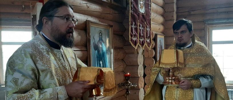 Воскресная Божественная литургия в храме Новомучеников и Исповедников Российских г.Ардатова