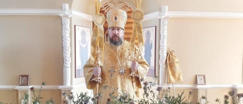 Неделя 17-я по Пятидесятнице на Лукинском архиерейском подворье г.Саранска