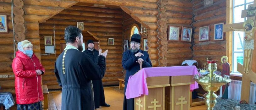 Правящий Архиерей Ардатовской епархии совершил рабочий визит по Атяшевскому району