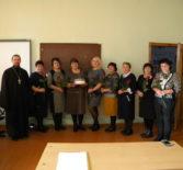 Помощник руководителя молодежного отдела Ардатовской епархии посетил День учителя в Кученяевской ООШ Ардатовского района