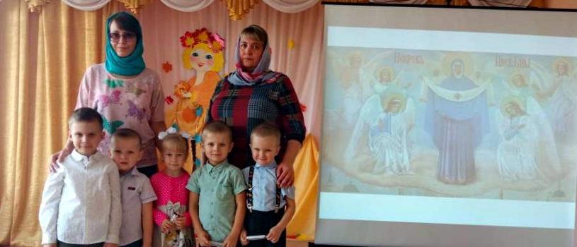 Праздник Покрова Пресвятой Богородицы отметили в Большеигнатовском детском саду