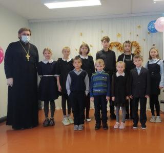 Руководитель молодежного отдела Ардатовской епархии посетил Баевскую СОШ